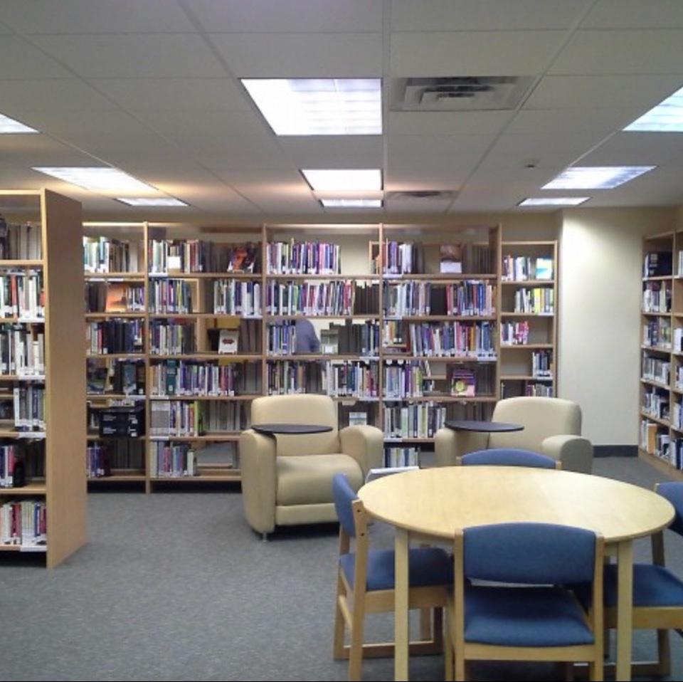 Main Library Room, LaSalle Hall Room 108